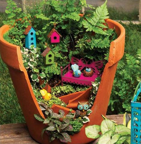 Направате сопствена малечка градина