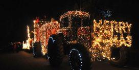 Новогодишен земјоделски декор