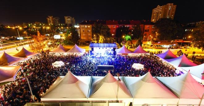 proleten festival na vinoto pred vero centar
